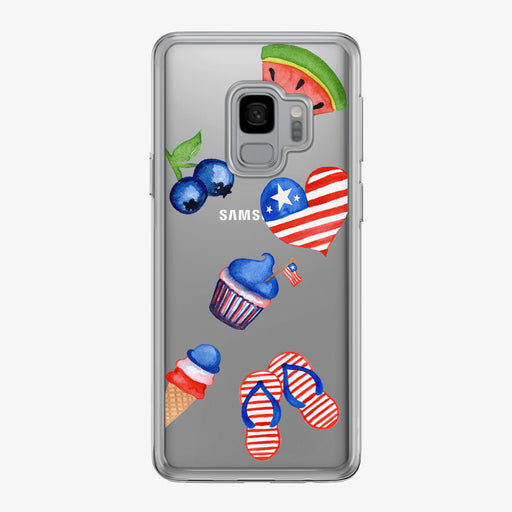 American Summer Samsung Galaxy Phone Case by Tiny Quail