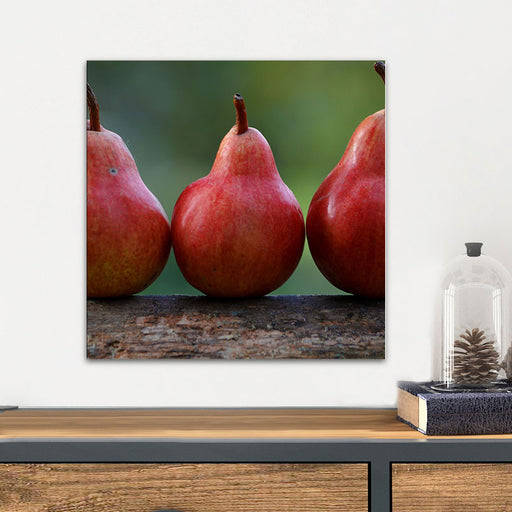 Pears Glass Wall Art