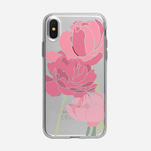 Pretty Pink Peonies iPhone Case from Tiny Quail