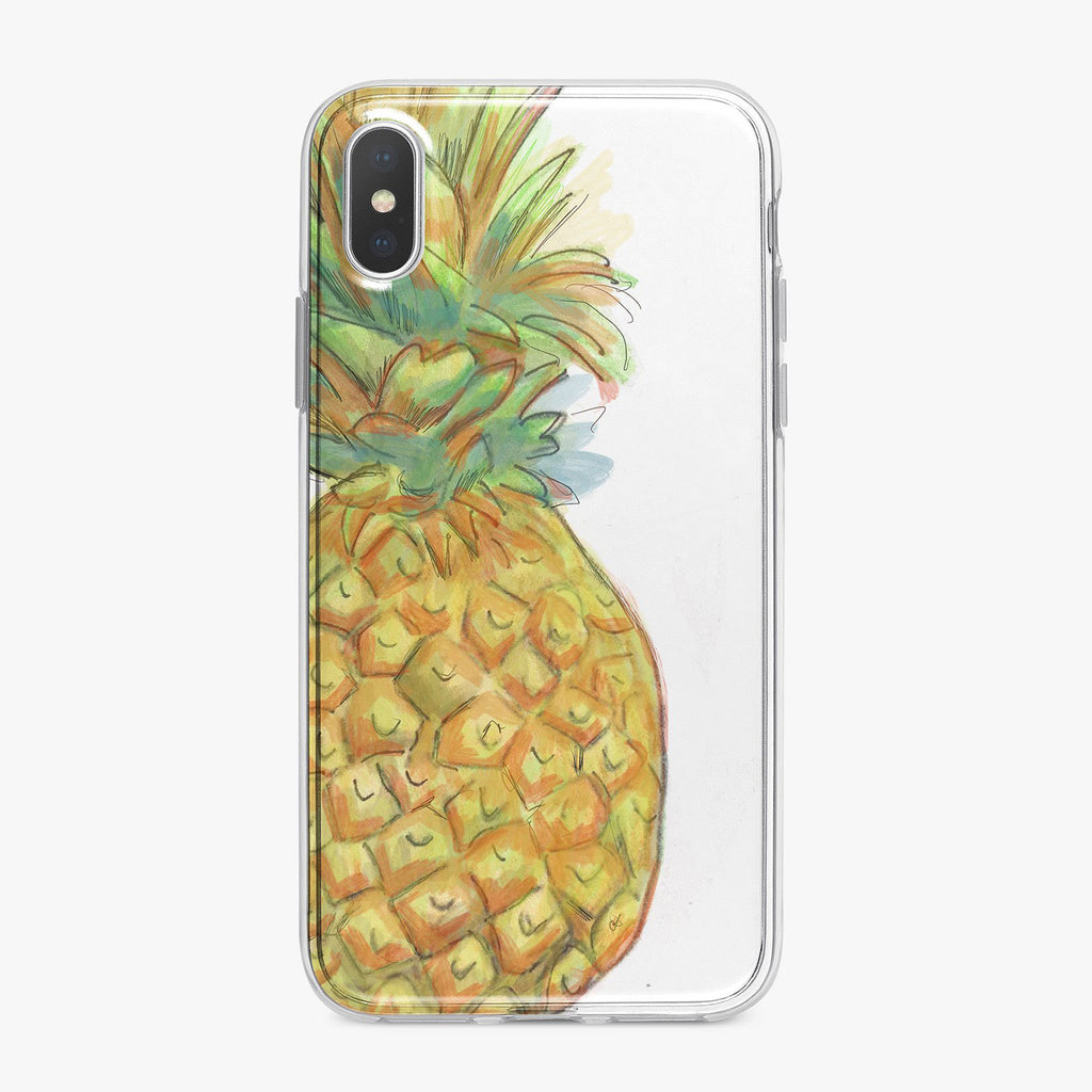 Offset Pineapple iPhone Case From Tiny Quail