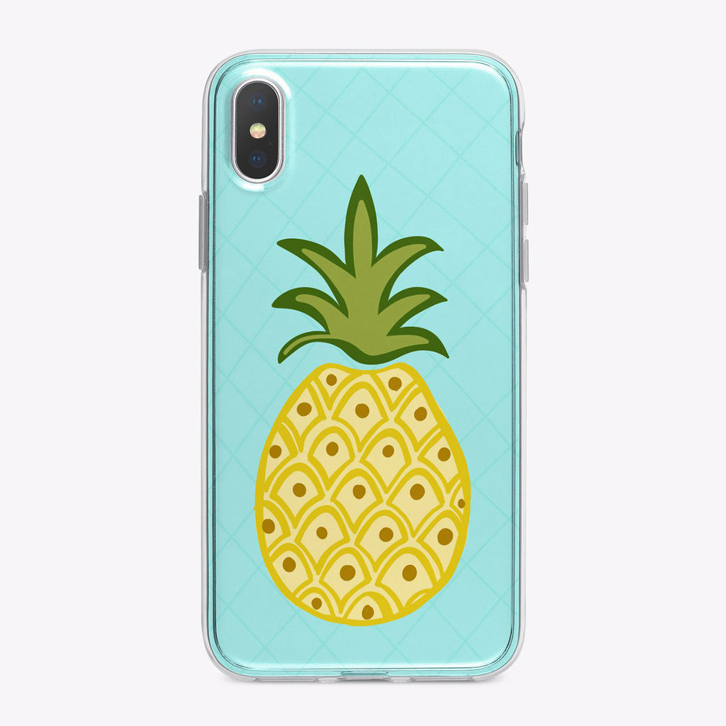Pineapple Designer iPhone Case From Festoon Lettering