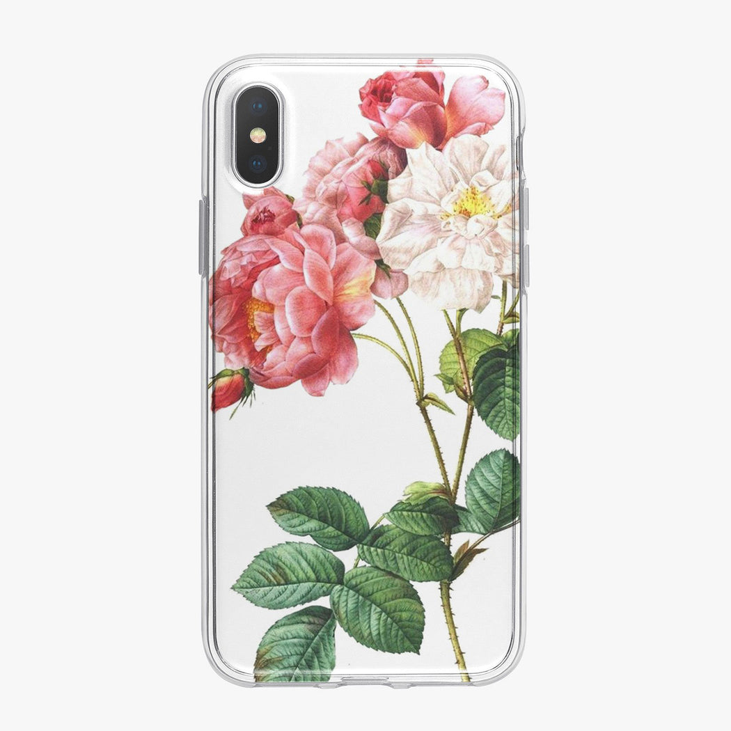 Vintage Rose Floral Designer iPhone Case From Tiny Quail