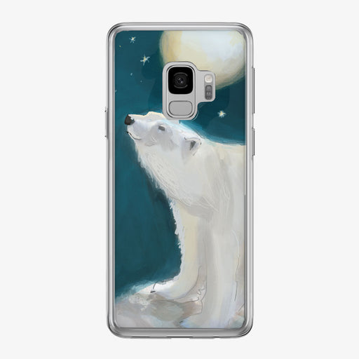 Polar Bear Samsung Galaxy Phone Case from Tiny Quail