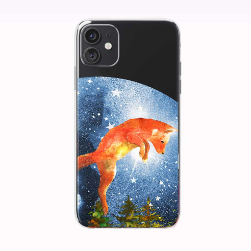 Red Fox Moon iPhone Case from Tiny Quail