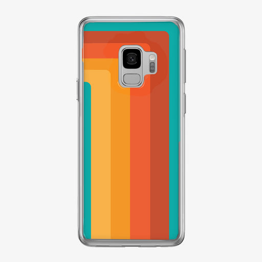 Retro 70's Striped Samsung Galaxy Phone Case from Tiny Quail