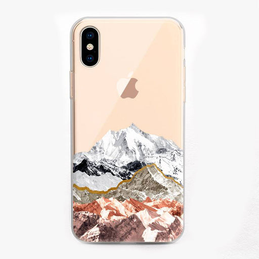 Rocky Mountains Designer iPhone Case by Onesweetorange