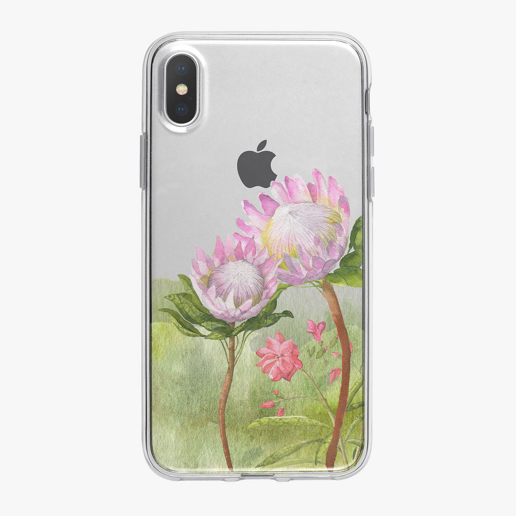 Safari Floral iPhone Case by Tiny Quail