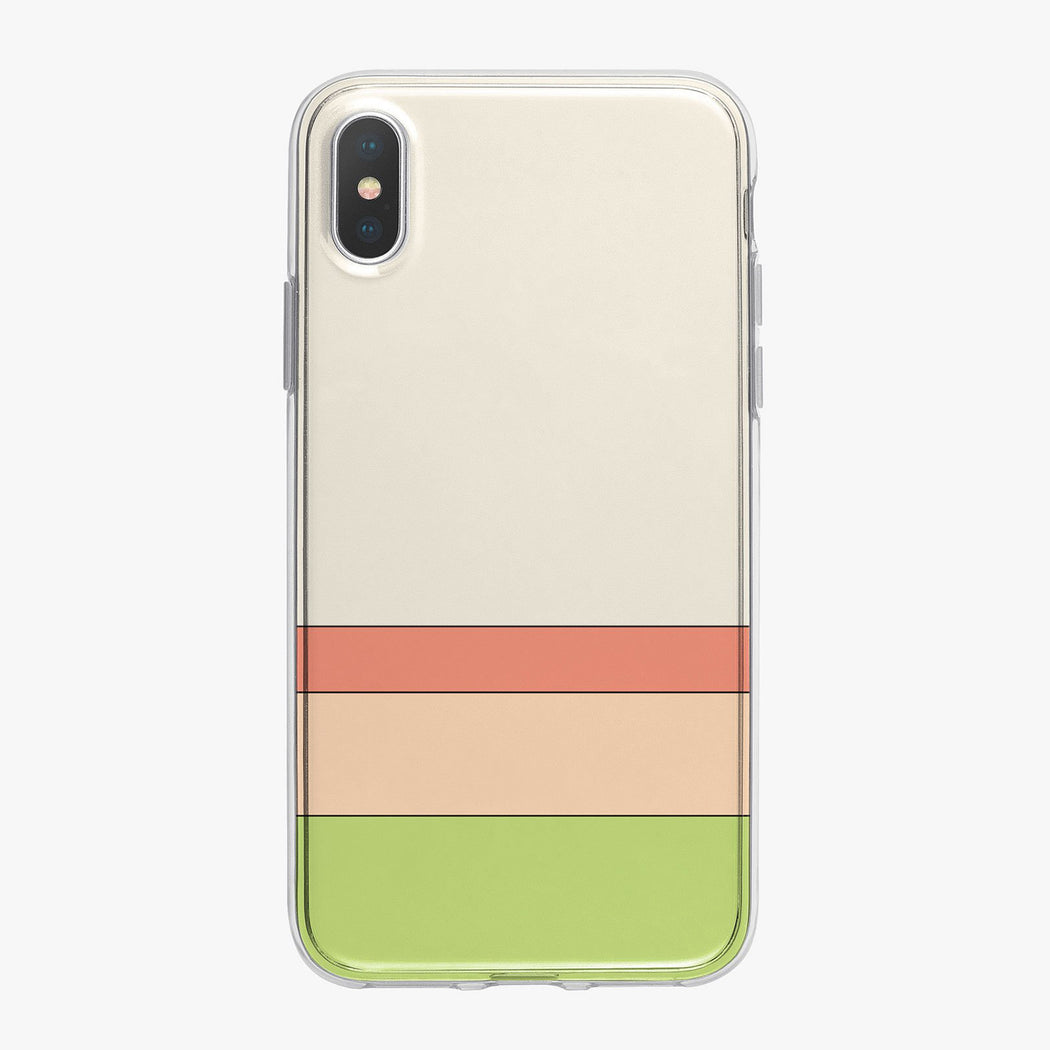 Springtime Stripes Designer iPhone Case From Tiny Quail
