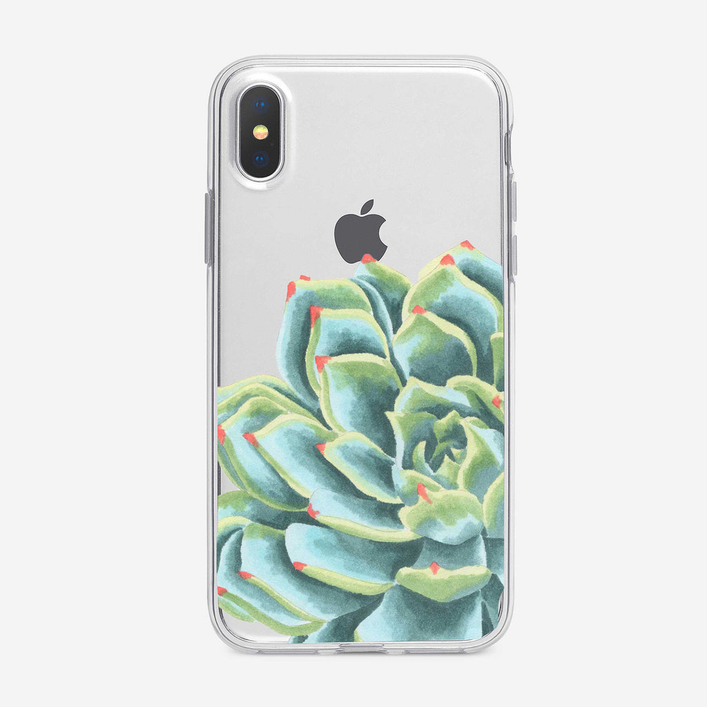 Large Bright Succulent iPhone Case from Tiny Quail
