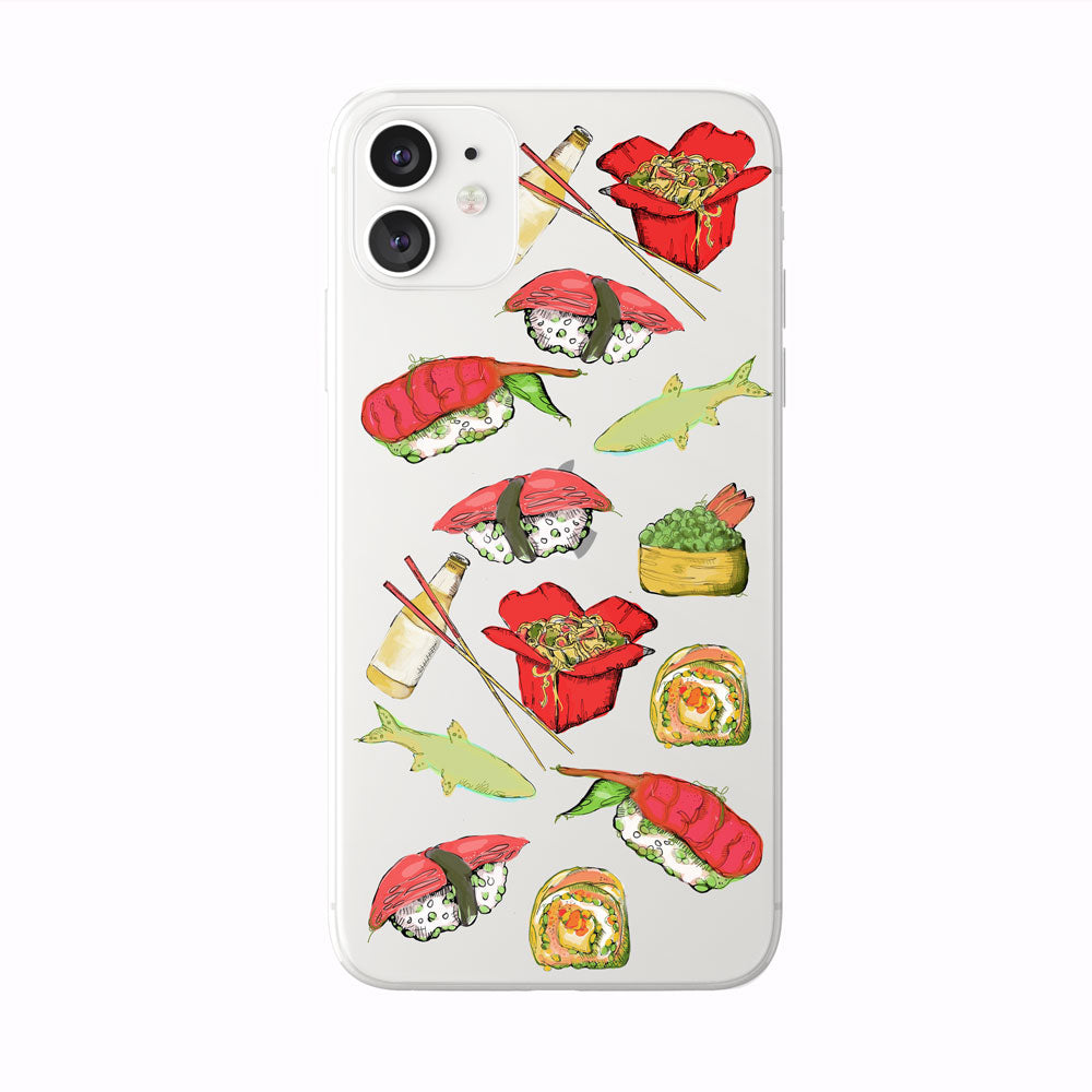 Colorful Sushi Lover iPhone Case from Tiny Quail