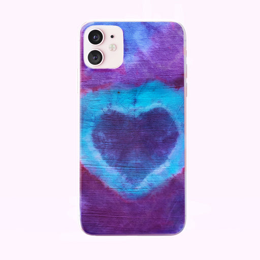 Tie Dye Heart iPhone Case from Tiny Quail