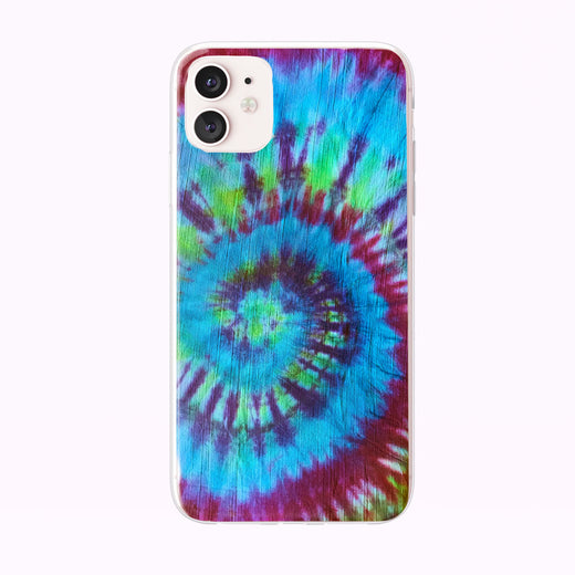 Tie Dye Spiral iPhone Case from Tiny Quail