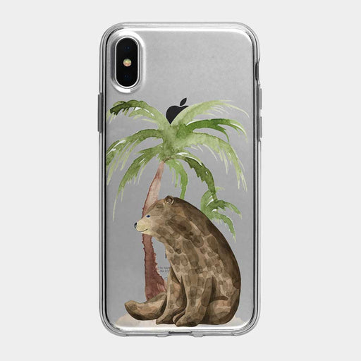 Vacation Bear iPhone Case from Tiny Quail