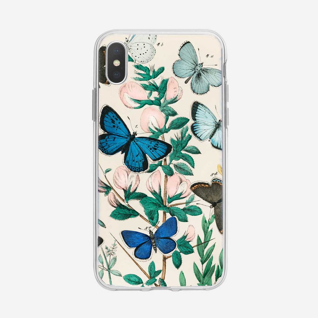 Vintage Butterfly iPhone Case from Tiny Quail