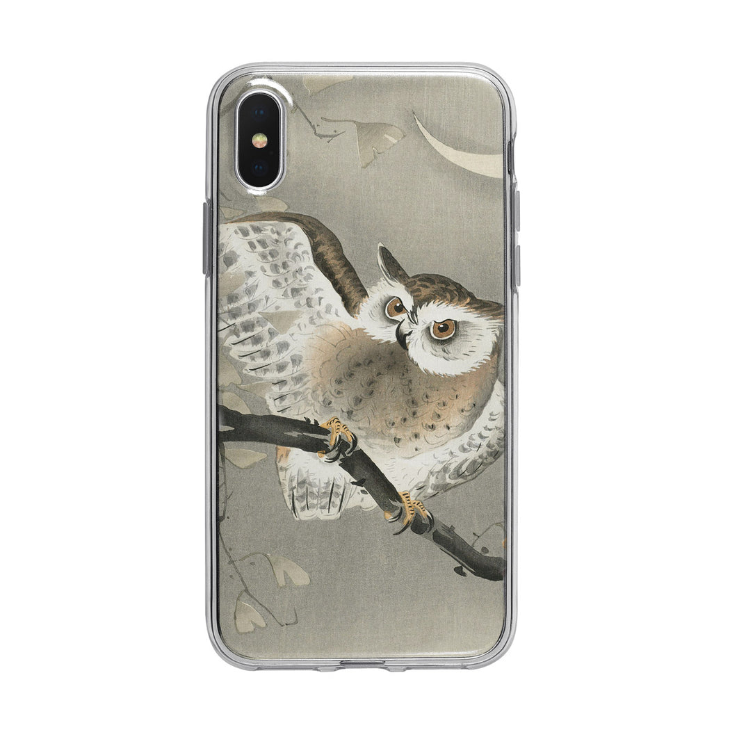 Vintage Nighttime Owl iPhone Case from Tiny Quail