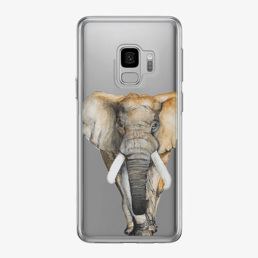 Watercolor Elephant Samsung Galaxy Phone Case from Tiny Quail