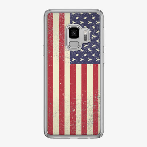 American Flag Samsung Galaxy Phone Case by Tiny Quail