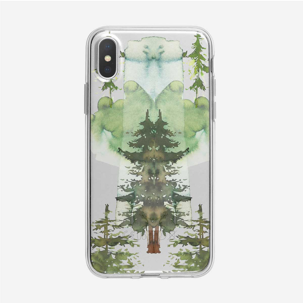 Strange Forest iPhone Case from Tiny Quail