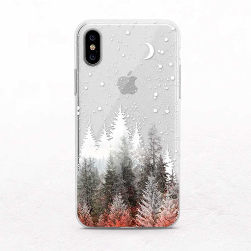 Winter Forest iPhone Case by Onesweetorange