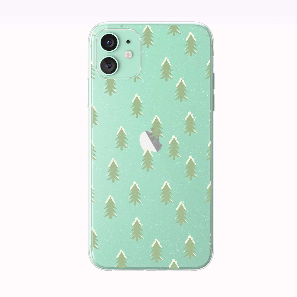 Winter Tree Pattern iPhone Case from Tiny Quail