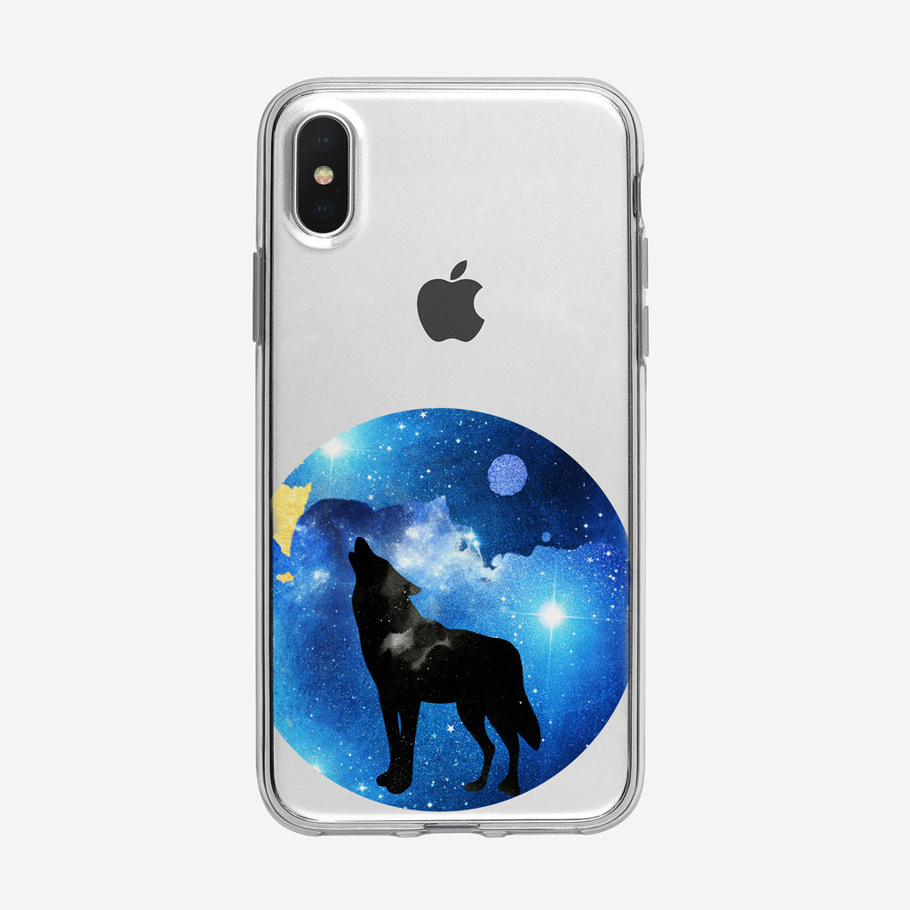 Cosmic Wolf iPhone Case from Tiny Quail