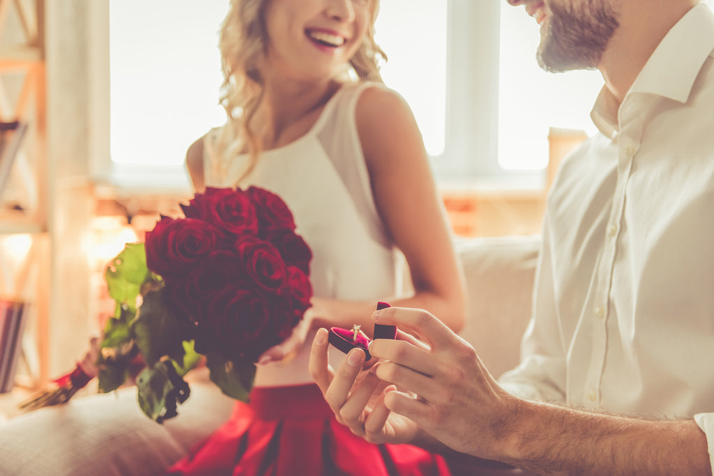 Five Romantic At Home Proposal Ideas