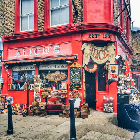 portobello market, london itinerary, weekend in london