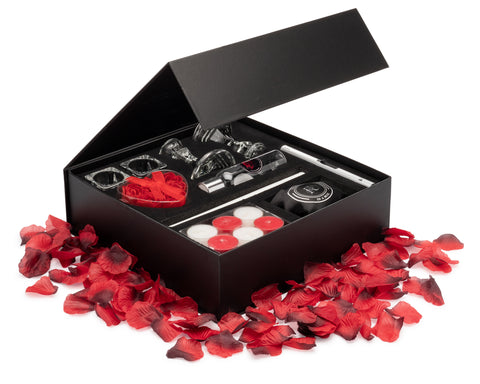 Image of valentine's day gift box basket