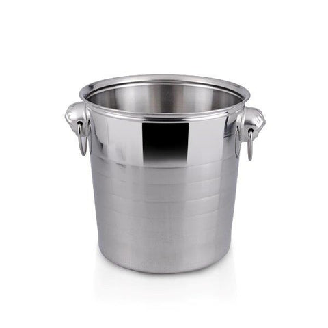 Image of cheap large champagne ice bucket wine chiller to hold multiple bottles