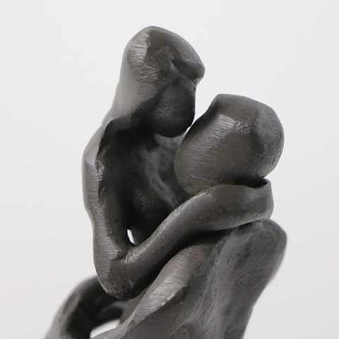 Iron Couple Statue