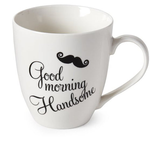 good morning handsome mug by pfaltzgraff