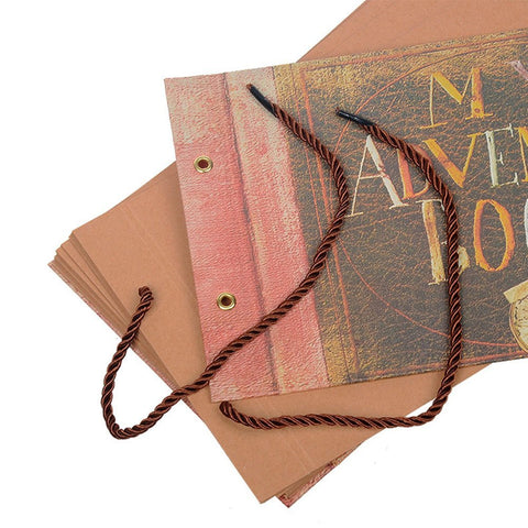 our adventure scrapbook for romantic paper anniversary gift