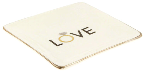 LOVE Ring or Trinket Tray
