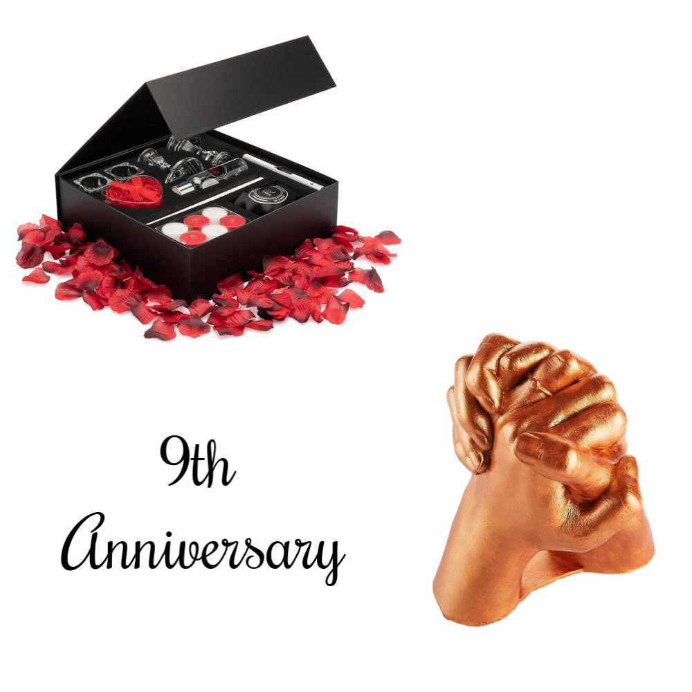 9th Anniversary Décor & Pottery Gift Package