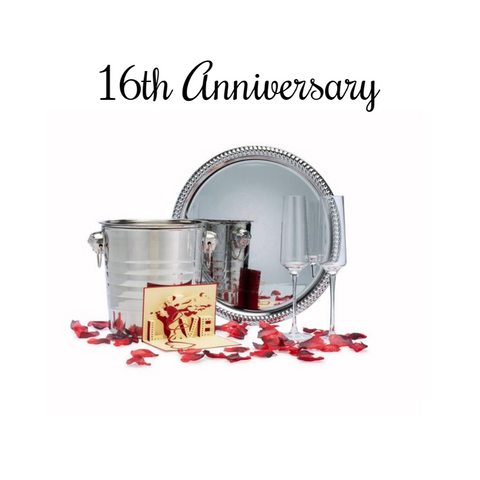 16th Anniversary Décor and Gift Package