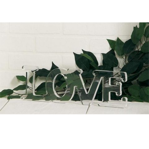 Image of love sign romantic decoration for bedroom