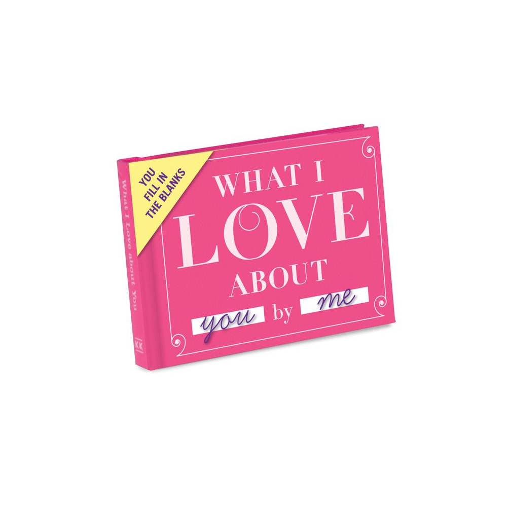 What I Love About You Mini Book