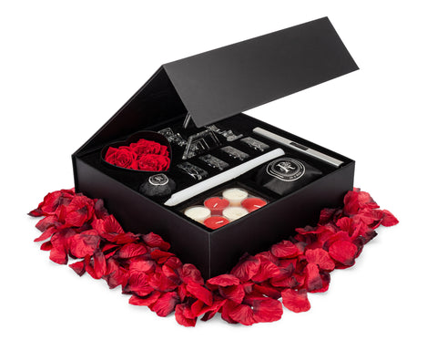 Image of pandemic valentine's day at home kit for couples