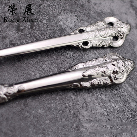 Image of Romantic Flatware Set for Two