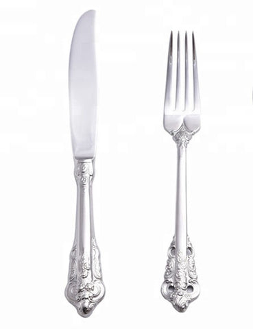 Romantic Flatware Set for Two
