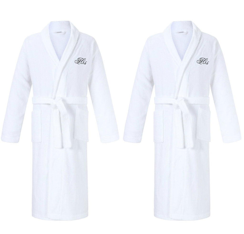 his and his gay wedding gifts robes for gay couples