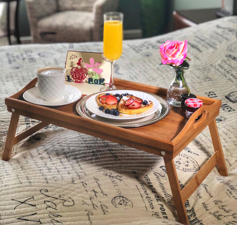 Image of Breakfast in Bed Gift Box for Mom