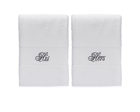 Image of His and Hers Bath Towel Set
