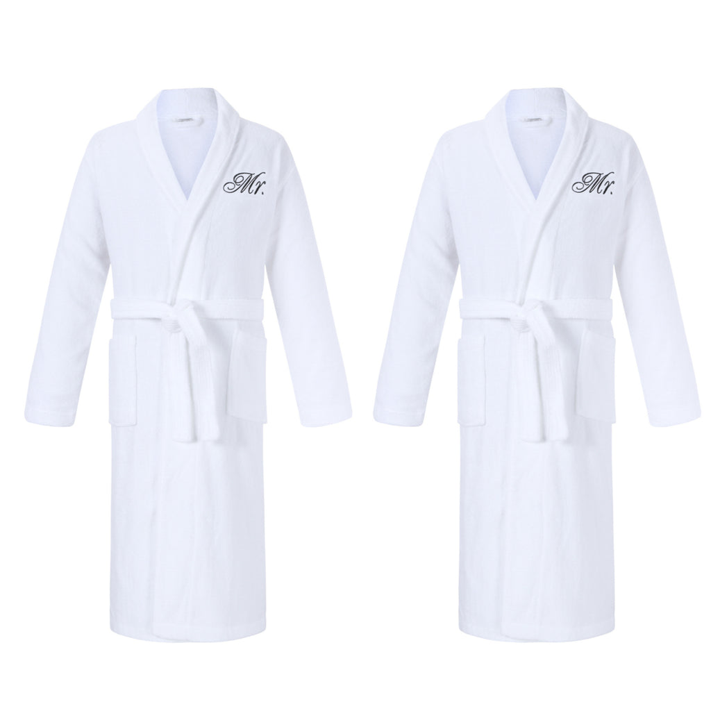 Mr & Mr Gay Bathrobes Gift Set