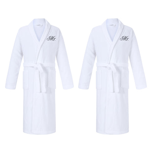 Image of Mr & Mr Gay Bathrobes Gift Set