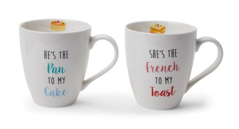 His and Hers Funny Mug Set
