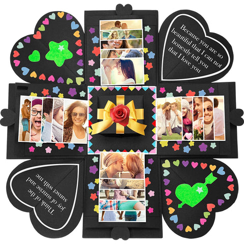 Image of Romantic Surprise Photo Album Gift Box