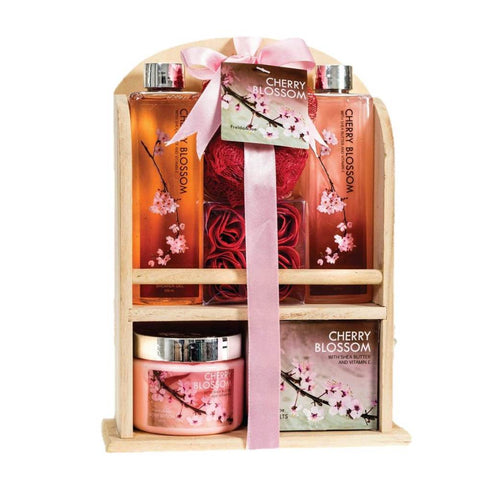 Freida & Joe Cherry Blossom Spa Bath Gift Set