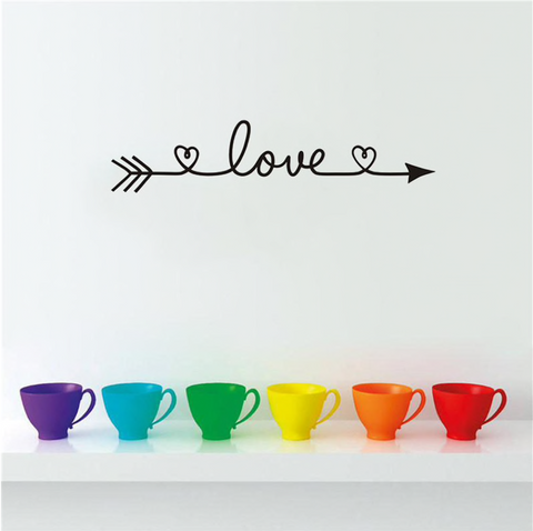 Image of Love Wall Decal