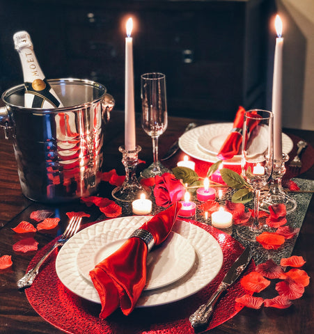 Image of romantic valentines day dinner ideas
